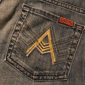 Beautiful 7FAM A-Pocket jeans
